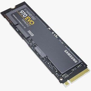 970 evo ssd hard 3D model