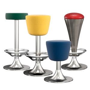 3D model dream stools set r