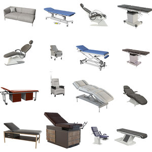 exam tables chairs mega 3D model