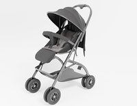 well modeled and detailed Platinum Baby Strollers