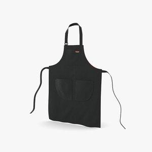 apron cloth apparel model