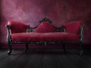 english sofa 3D model