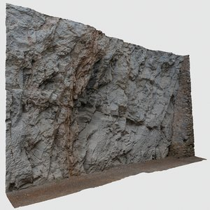 scan rock wall 3D