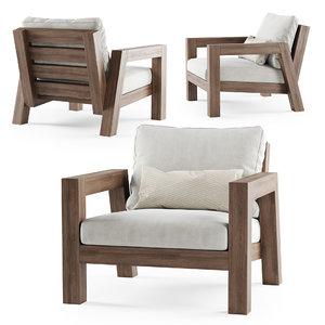 3D lars armchair piet