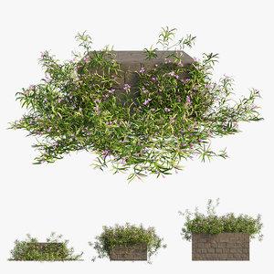 3D grass 02 model