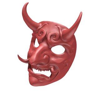 3D mask japanese model