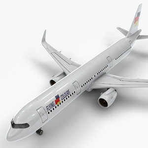 a321 neo flying colours 3D model