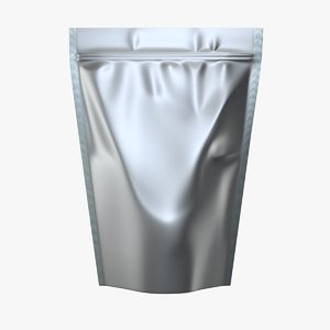 stand pouch 3D