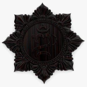 kara balinese hindu 3D model