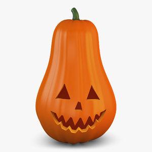 halloween pumpkin v 2 3D