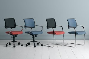 chairs eterno task 3D model
