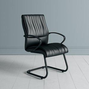 3D highstreet office chair