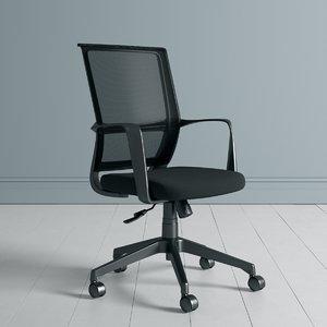 3D hornet operators chair model