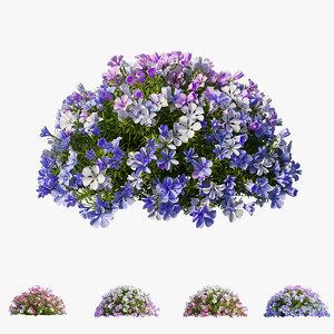 3D plant flower set 11