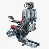 Sci-fi Pilot Seat(1)