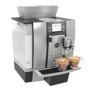 3D coffee machine giga w3