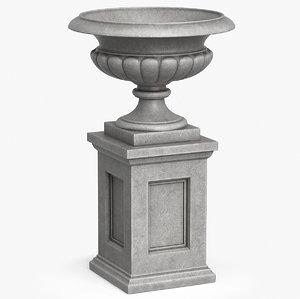 3D urn planter