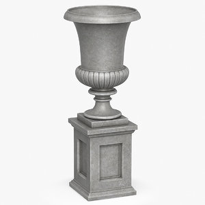urn planter 3D