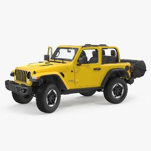 3D jeep wrangler thule transporter