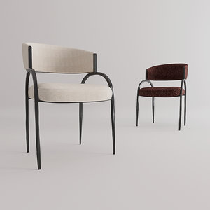 chair furniture seat 3D model