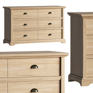 chest drawers mp 3D model