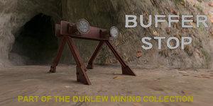 buffer stop 3D model