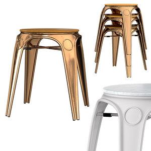 3D krets kopi stool