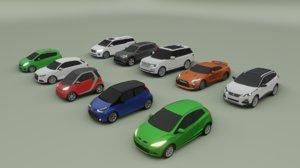 10 cars 3008 a1 model