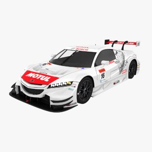 honda nsx mugen team 3D model