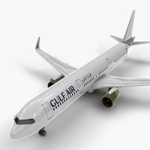 3D a321 neo gulf air model