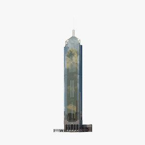 central plaza hong 3D model