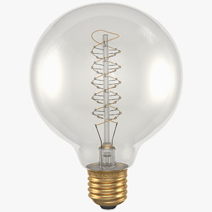 antique edison bulb g95 3D