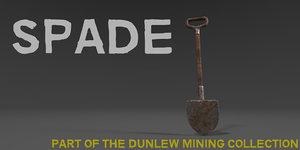 spade industrial mining model
