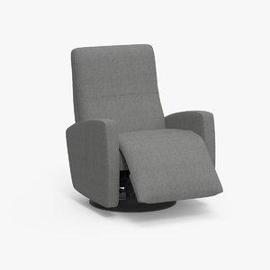 3D sierra reclaning chair seat