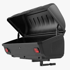 3D model thule transporter combi cargo