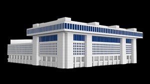 3D fbi j edgar hoover model