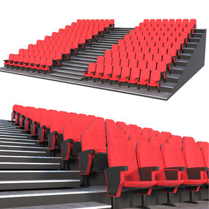 3D theater chair