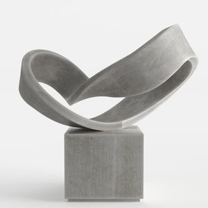 3D modern decorative abstract stone