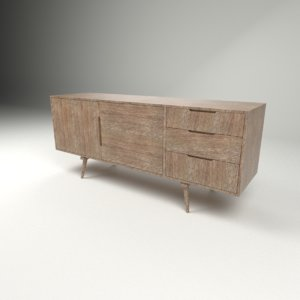 sideboard design 3D model