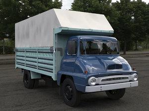 3D model truck classic