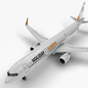 a321 neo holiday europe 3D model