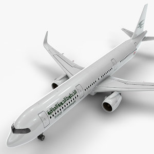 3D a321 neo iraq airlines model