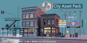 City Asset Pack v2.1 november 2020