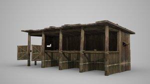 3D latrines ancient buildings