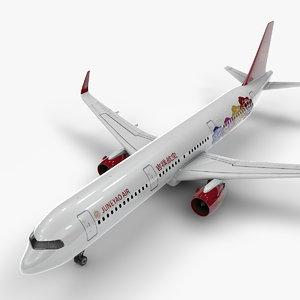 a321 neo juneyao air model
