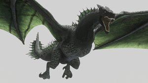 dragon wyvern 3D model