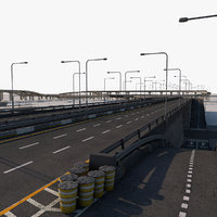 Roads Pack high poly