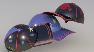 children s hat 3D model
