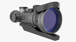 sightglass dedal 3D model