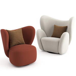3D chairs big norr11 model